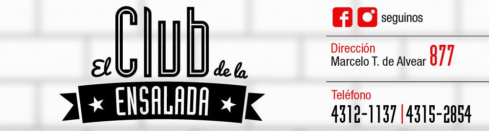 Ya abrimos El Club de la Ensalada en Marcelo T. de Alvear 877